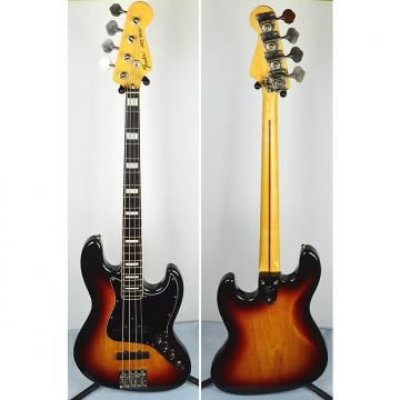 Custom Fender '75 Reissue Jazz Bass Japan 2007 3 Color Sunburst