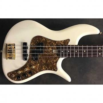 Custom Fbass VF P/J4 NAMM Bass Olympic Pearl