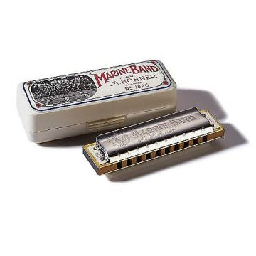 Custom Hohner Marine Band Harmonica, Key of G