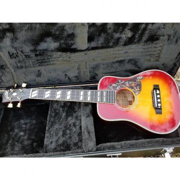 Custom Sumi  Hummingbird tenor ukulele Eiichi Sumi 2016 sunburst
