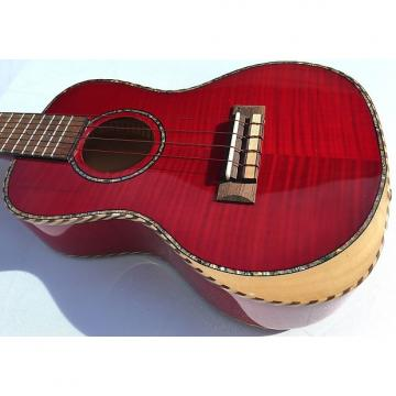"Custom Ulo XS-68 24"" Premium Aquila Red Series Ukulele with arm rest"