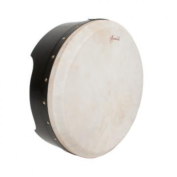 Custom Roosebeck Tunable Ply Bodhrán 16''X5'' Black BLEMISHED