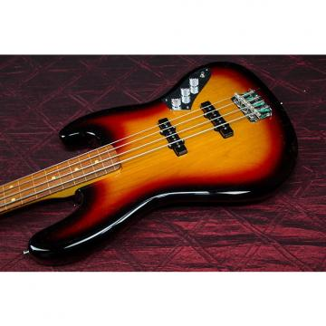 Custom Fender Jaco Pastorius Fretless Jazz Bass Guitar  3-Color Sunburst 031315