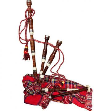 "Custom Roosebeck 27"" Miniature Bagpipe Set"
