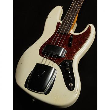 Custom Fender 2017 Collection 1962 Jazz Bass Journeyman Relic Olympic White