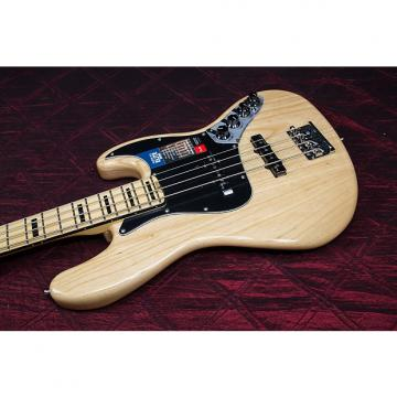 Custom Fender American Elite Jazz Bass - Natural, Maple Fingerboard 031313