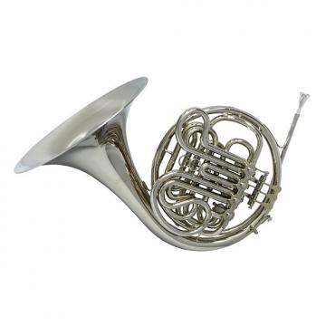 Custom Schiller American Elite VI (A) French Horn - Nickel