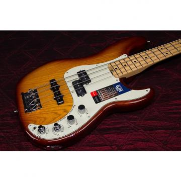 Custom NEW Fender American Elite Precision Bass Tobacco Sunburst Auhtorized Dealer Warranty Only 8lbs 12oz!