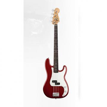 Custom Fender Standard Precision Bass Candy Apple Red