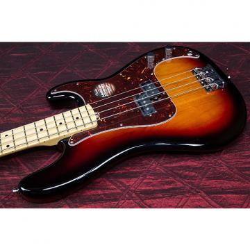Custom Fender American Standard Precision Bass Maple neck 3 tone sunburst 031311