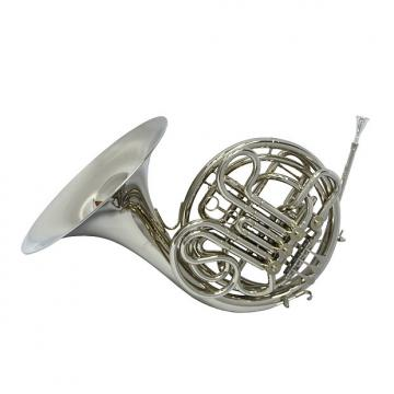 Custom Schiller American Elite VI French Horn - Nickel Plated