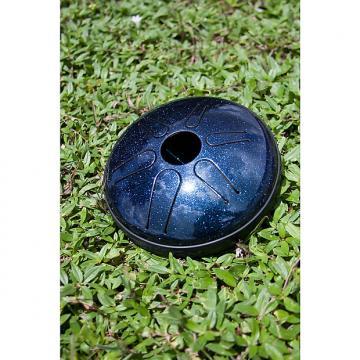 "Custom Idiopan 6"" Bella Electric Steel Tongue Drum Sapphire Blue DPD06 SBE"