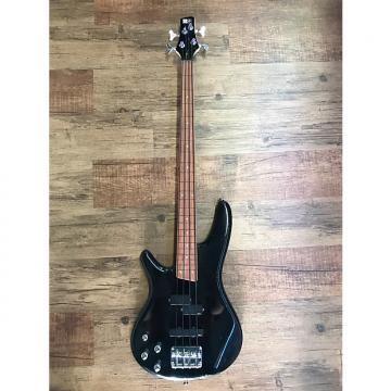 Custom Ibanez SR300DX Bass Guitar Fretless Lefty Black