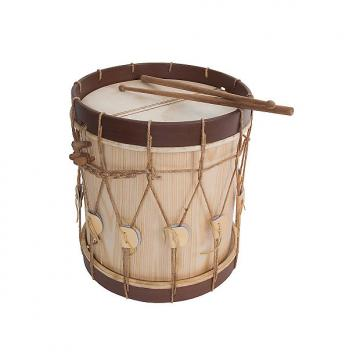 "Custom Early Music Shop Designed 13"" Renaissance Drum and Sticks BLEMISHED"
