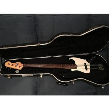 Custom Fender American Standard Fretless Jazz Bass 2000 Black Nitro