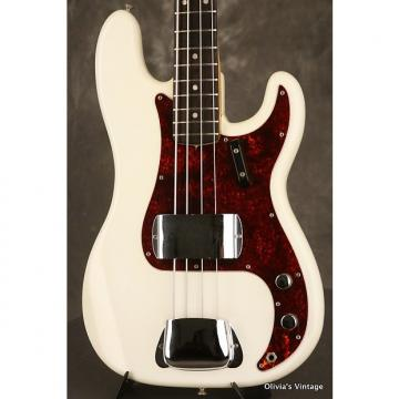 Custom Fender Precision P-Bass 1968 Olympic White