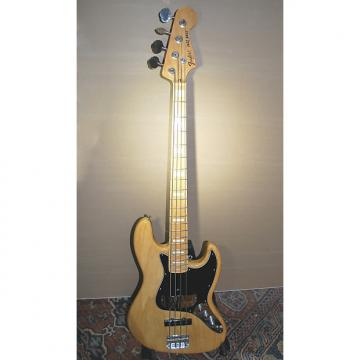 Custom Fender 4 String Jazz Bass (Japan) 1975 reissue Natural