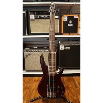 Custom Ibanez SR506 Brown Mahogany 6 string bass w/OSHC Made in KOREA!