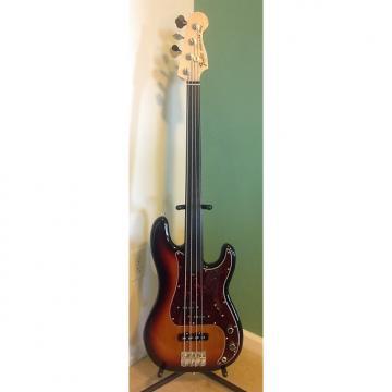 Custom SALE! Fender Tony Franklin Fretless Precision Bass 2015 3 Color Sunburst