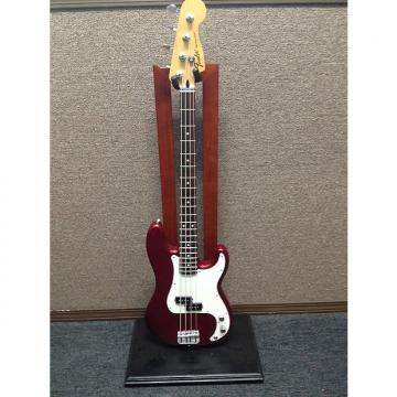 Custom Fender Standard Precision Bass 2014 Candy Apple Red Mexican Made Sales Floor Model