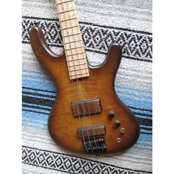 Custom Marco BS 2016 4 string passive bass guitar w lite flats MI usa no shipping pickup anderson ca n ca