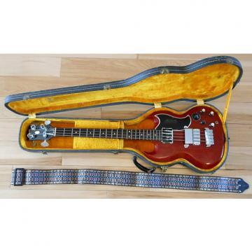 Custom 1961 Gibson EB-3 Cherry Red Bass Guitar