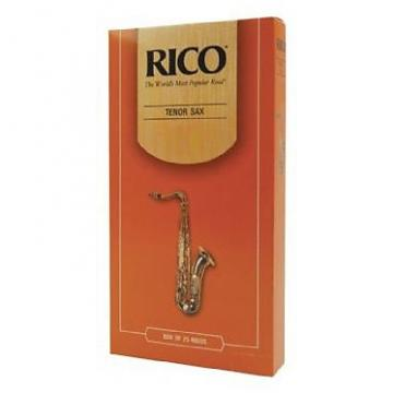 Custom rico tenor sax reeds box of 25, strength 1.5