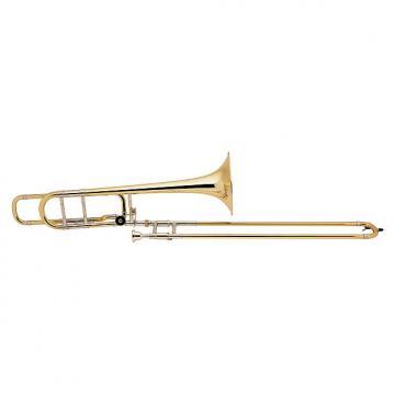 Custom Bach Stradivarius Trombone 42BO  Bb/F Trigger (BA42BO)