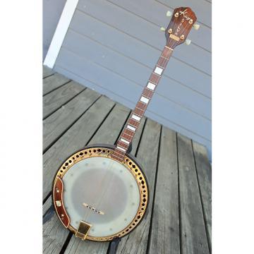 Custom Kay Silva Tenor 4 string Closed Back Banjo 1950's Brazilian Rosewood