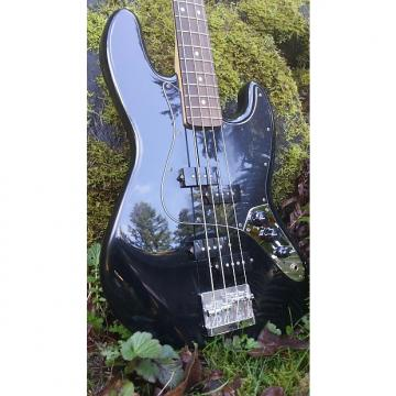 Custom Fender  Blacktop Jazz '10s Black On Black