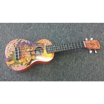 Custom Kahuna Oriolo Soprano Ukulele Uke KUS66GFXTK - NEW