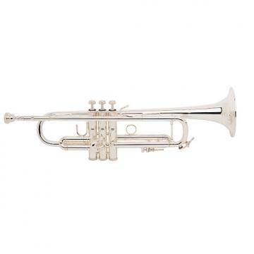 Custom Bach Stradivarius 180S-37 Trumpet Silver Plated (BA180S/37)