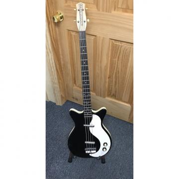 Custom Danelectro DC 2 Longscale 59 Shorthorn Bass Late 1990's Black