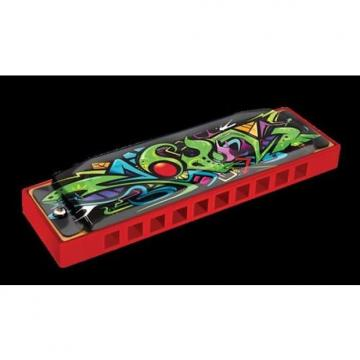 Custom New Hohner Red Dragon Harmonica Key Of C