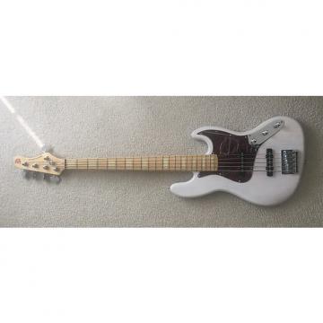 Custom Ken Smith Design KSD J5 Jazz Bass 2016 or earlier Trans White