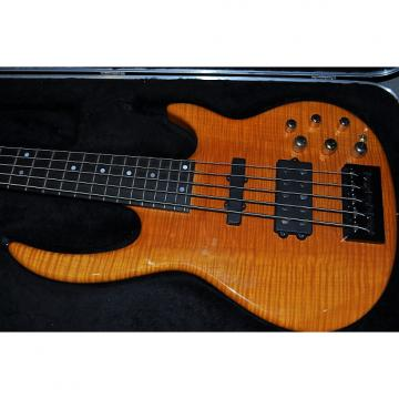 Custom Carvin Bunny Brunnel 5 String Bass BB75 Amber