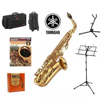 Custom Yamaha YAS280 Alto Sax Quality Start-up Package (YAS-280)