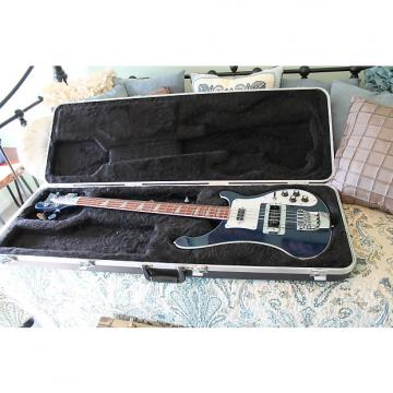 Custom Rickenbacker 4003 BASS 2006 Midnight Blue with case and strap locks Sale Must Sell