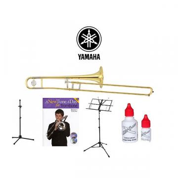 Custom Yamaha YSL154 Trombone Quality Start-up Package (YSL-154)!