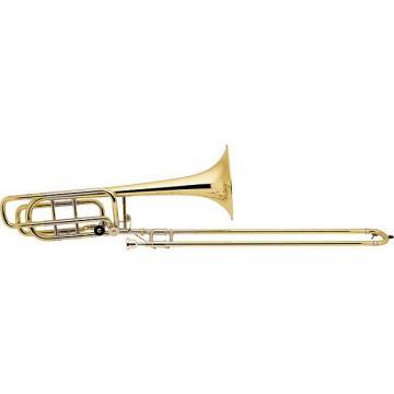Custom Bach Professional Bass BA50B30 Stradivarius Bass Trombone w/ Double Rotor System