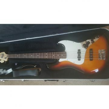 Custom Fender Standard Jazz Bass 2004 Tobaco Burst w/HSC