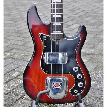 Custom Hagstrom ScanBass 1977 Two-Tone Sunburst