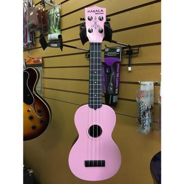 Custom Makala Waterman Pink Plastic Ukulele Uke