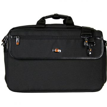 Custom LUX FLUTE/PICCOLO PRO PAC CASE WITH SHEET MUSIC MESSENGER  LX308PICC