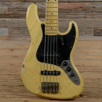 Custom Nash JB-5 Natural MN Medium Relic w/3-Ply Black Pickguard & Lollar Pickups USED