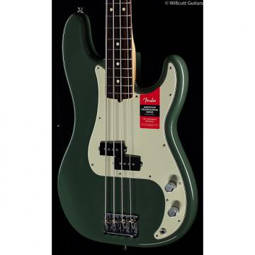 Custom Fender American Pro Professional Precision Bass Antique Olive Rosewood (196)