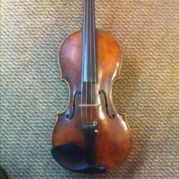 Custom German Violin Da Salo 19th century