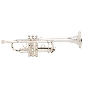 Custom Bach Stradivarius C Trumpet 180SL229 (Silver Plated) (BAC180SL229)