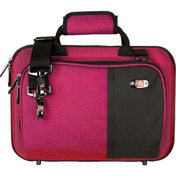 Custom SLIMLINE CLARINET PRO PAC CASE - HOT PINK PB307HP