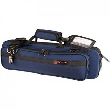Custom SLIMLINE FLUTE PRO PAC CASE Blue (PB308BX)
